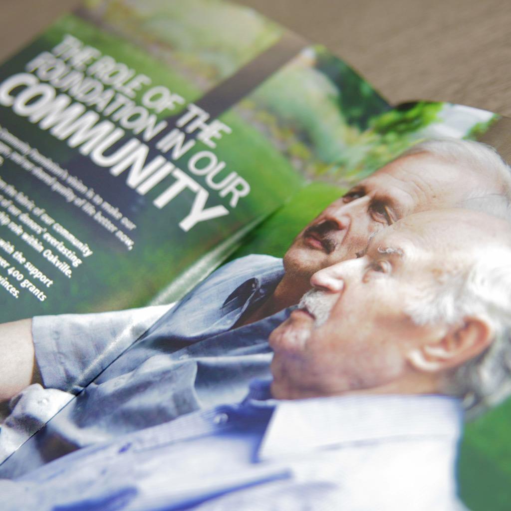 The Oakville Community Foundation Brand Refresh, Website & Marketing